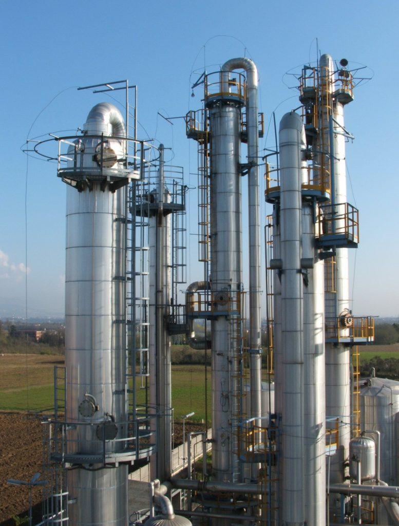 Implantation de distillation